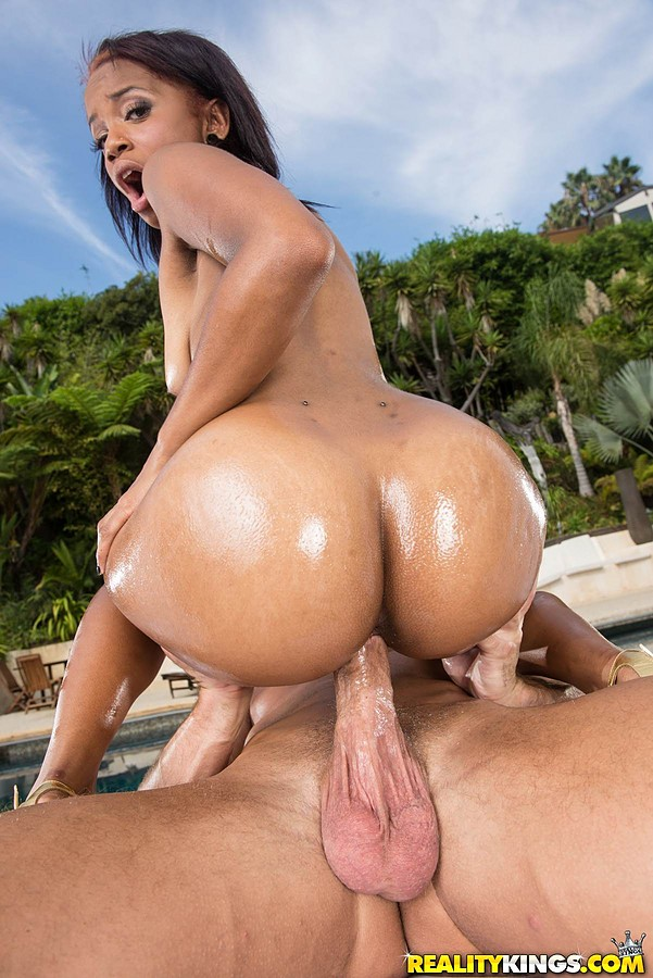 Girl Rides Big Black Dick
