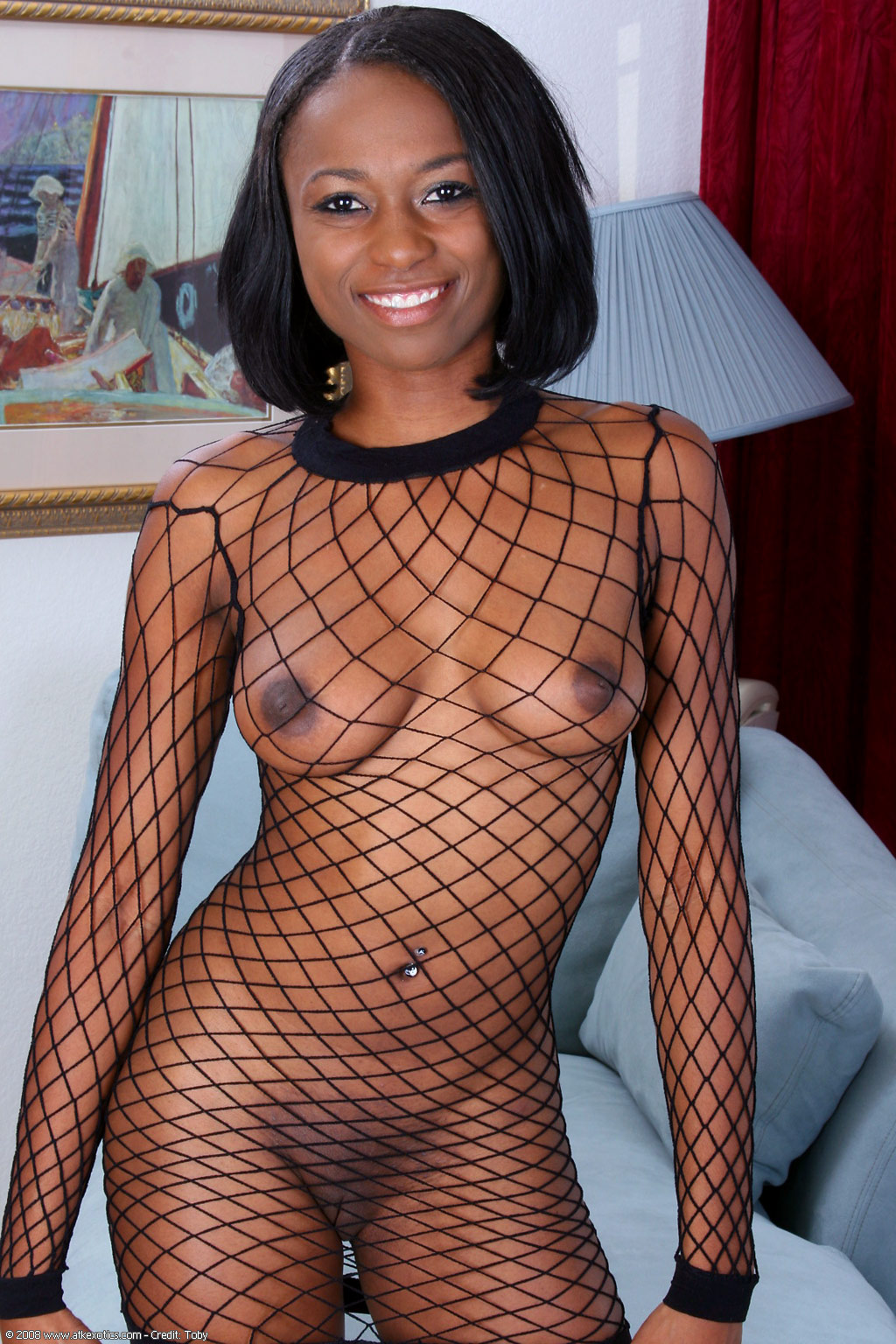 Has nude girl full body fishnet phrase